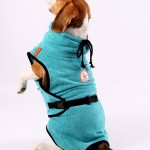 Easy to dry your dog quickly with a chillcoat